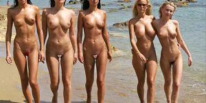 Catwalk nude Fully nude