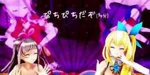[MMD] Mirai Akari and Kizuna Ai - Roki Porn Videos