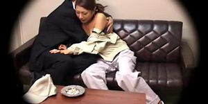 Japanese house wife creampied by her boss Porn Videos