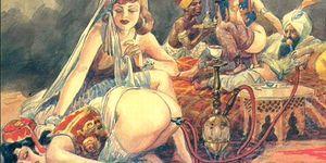 Comic: Big Tit Anime BDSM Fetish Comic