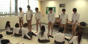 Future Japan Mandatory School Orgy with English Subtitles Porn Videos