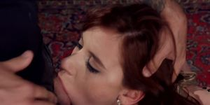Redhead slave trainee is anal banged (Tommy Pistol, Audrey Holiday)