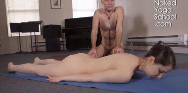 Nude yoga videos